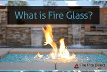 Fire Glass / Are you a fan of that diamond-like, twinkling, fire pit media? It's called Fire Glass and it is taking the nation by storm!