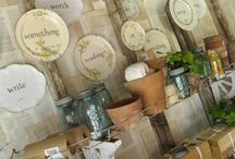 CHINA PLATE WALL DISPLAYS / by Oh One Fine Day