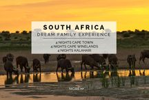 Experience - Dream Family Escape / Experience the ultimate African family getaway: the privacy of your very own, fully serviced villa in Cape Town, the tranquility of a Winelands retreat and your own private family safari in the heart of the Kalahari Desert on this 13 NIGHT / 12 DAY EXPERIENCE.