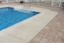Genest Paving Stone Poolscapes / Paving Stone Pool Decks