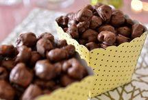 pipoca coberta vom chocolate
