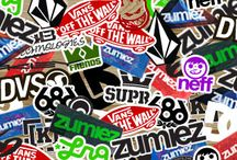 Skate stick / Stickers