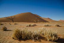 Namibië sossusvlei / Uniek woestijnlandachap in Afrika.