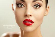 Pin up make-up