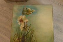 Proyectos que debo intentar / trabajos  con decoupage  y pintura decorativa
