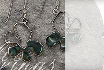Sundari Earrings / A small selection of the lovingly-source silver gemstone earrings available from Sundari Jewellery