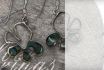 Sundari Earrings / A small selection of the lovingly-source silver gemstone earrings available from Sundari Jewellery
