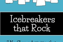 Icebreakers / The best icebreakers that will get kids talking and start building relationships from the first day of school!