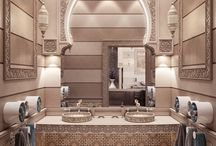 ₩ Arab, Indian, Moroccan, Middle Eastern Bathrooms ₩