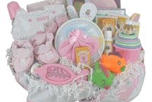 Baby Girl Gift Baskets / Baby Gift Basket Company specializing in cute and adorable Baby Gifts! Find unique and personalized new baby gifts to welcome new baby girl and more! http://www.storkbabygiftbaskets.com/new-baby-gift-baskets.html