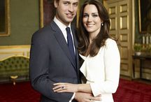 Kate Middleton/Prince William / by Gregory Bearden