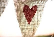 ~Burlap Love~ / by Valerie McBroom