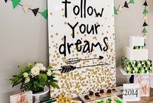Graduations / Graduaciones,ideas,fiestas
