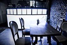 Restaurant interior Tanto c'è Tempo / Un luogo che è tanti luoghi, un viaggio dietro ogni angolo, a due passi dal cuore di Roma, con nel cuore atmosfere affascinanti
