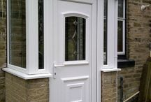 Doors - UPVC / Different doors installed