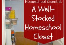 Homeschooling / by My Crimson Clover - Kimberly Green