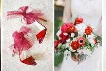 Aurora Red- czerwień zawsze modna / czerwone wesele, czerwone dodatki, pantone fashion color report, fall / winter 2016, aurora red