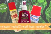 Why choose Tropical Strength Insect repellent? / How to choose the best insect repellent for your next tropical holiday. Learn more on our blog
