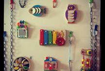 Quiet books & Sensory boards