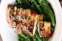 Gluten free chicken dishes / by Lisa Fox