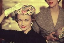1950's hats and dresses / by Angela King