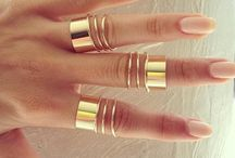 rings and insert nails