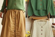 svetry / pletené zboží