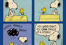 Peanuts / Snoopy, Woodstock, Charlie Brown, Linus, Rerun, Sally, Lucy, Peppermint Patty, Marcie, Schoolhouse