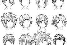 différentes coupes de cheveux