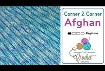 Crochet couverture