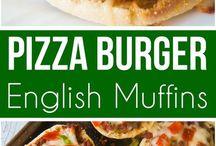 pizza English muffins