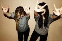 •Best Friends• / Best friend photo shoot! Totally want to do this! :)