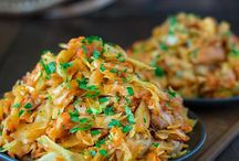 Chicken cabbage casserole
