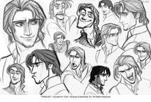 Character design faces / Character design inspiration various artist