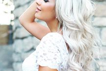 ChEvEux Blond CEndrÉ-Ash Blond Hair / Coloration-Haircolor