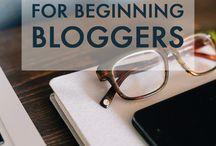 Blogging / Blogging Tips I'm learning about