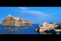 Island of Ischia (Just 25 min. from boat) / #ischia #islandofischia #island #italy #faunopompei #travel #vacancy #santangelo #thermal  It is the largest of the three islands off the coast of Naples,  (Procida, Capri and Ischia), and more than holds its own in this trinity of beauty rising from the azure waters of the Tyrrhenian Sea. This haven seems a million miles away from the haranguing, energy charged streets of Naples, (in reality only a short ferry journey away) and holds pleasures for the most intrepid or timid of travellers. / by B&B Pompei Il Fauno
