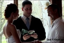 Great Wedding Vows / See what the bride had in store for the groom during the ceremony