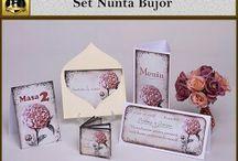 Set nunta Bujor