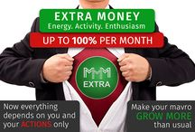 MMM Extra / Pay 20 % - 100 % per month, juat do the task every day, very simple.
