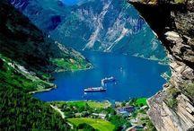 Norway-hjemlandet / Vakre steder jeg har vært.