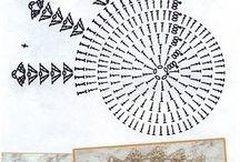 Szydełko - serwetki - wzory