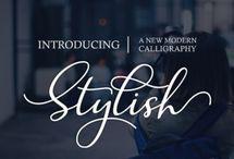 Fonts - Script, Brush, Handwritten