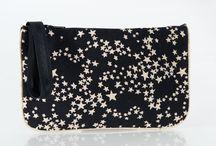 sochouette - étoiles liberty - étoiles sim or - étoiles sim argent - étoiles cuir / des sacs, des pochettes, des bracelets pour avoir la têtes dans les étoiles. Super Louisette Sofkipeut sochouette Peau de fleur