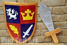 cavalheiros medievais