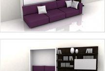 space saving furtiture / ruimte besparende meubels