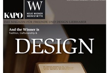 News / News and tidings about tradition, craftsmanship and design - by KAPO and Neue Wiener Werkstätte.