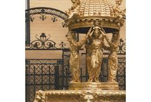 Anitique Fountains / Imported, antique fountains from all over the world sold at Pittet Architecturals (318 Cole St. Dallas, TX 75207)
