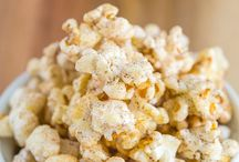 Popcorn / Popcorn Recipes, featuring the various flavors to enhance and personalize your snack!