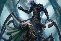 Drizzt Do'Urden and other dark elves